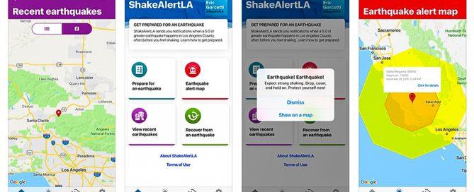 shake alert