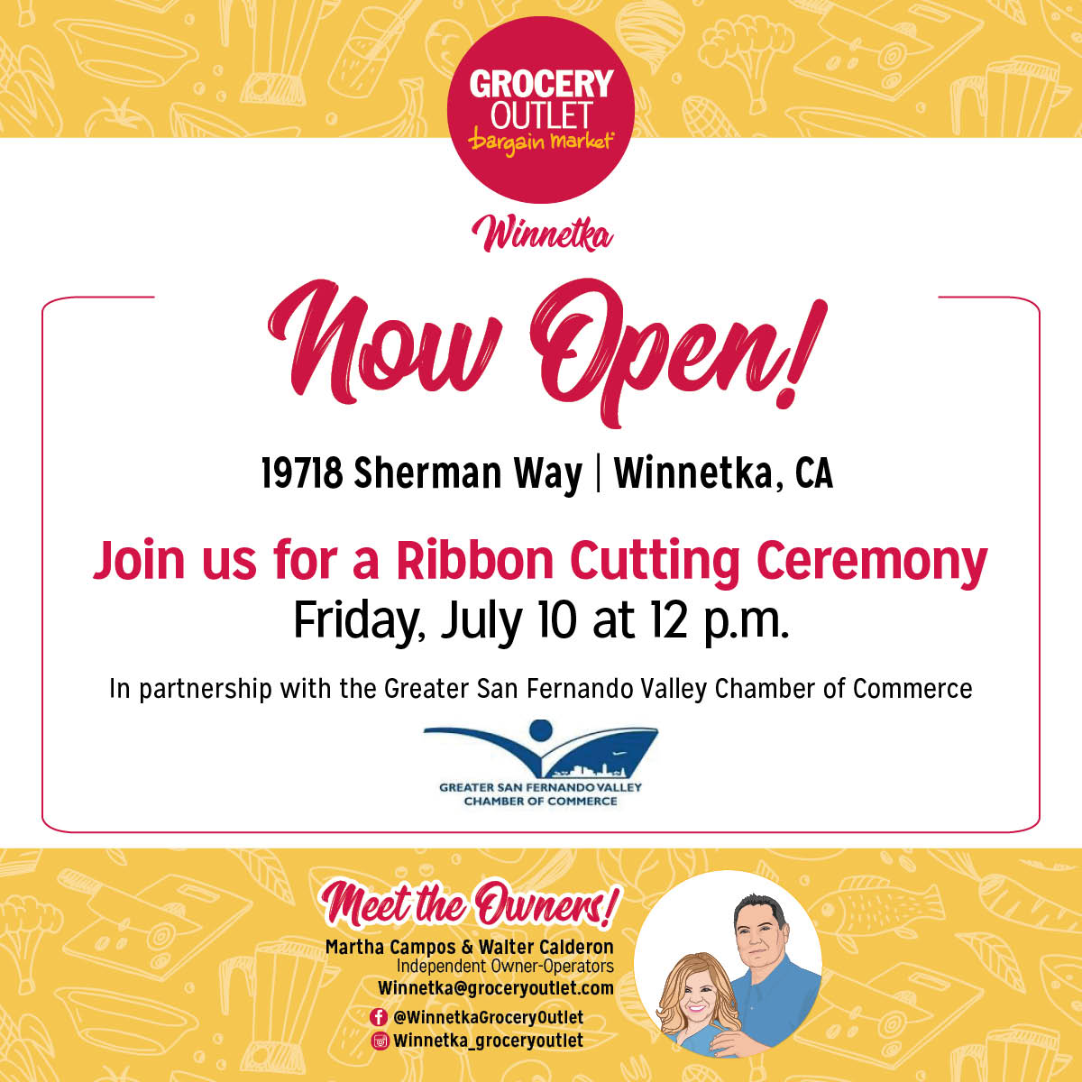 Grocery Outlet Ribbon Cutting