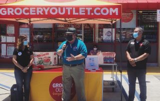 David Ubersax at Grocery Outlet Ribbon Cutting