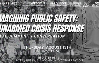 Public safety meeting