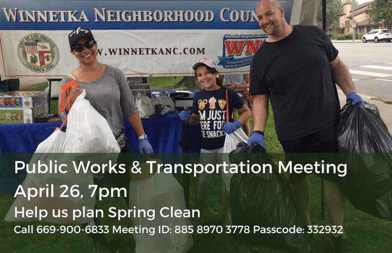 Public Works & Transportation Meeting