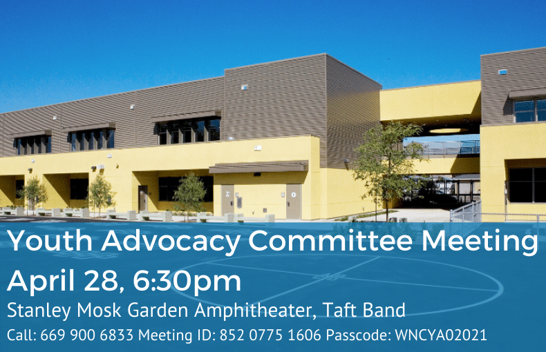 Youth Advocacy Committee Meeting April 28, 6_30pm