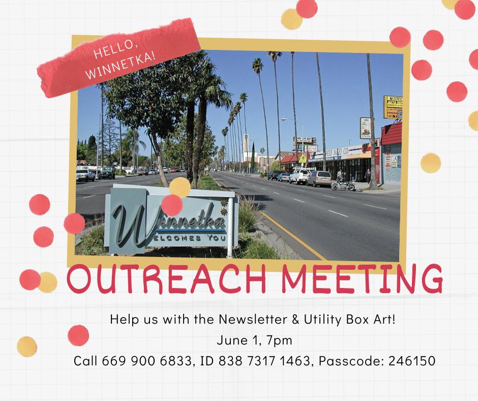Outreach Meeting Announcement