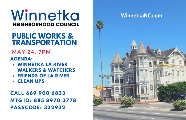 Winnetka Meeting Announcement