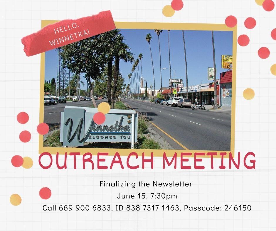 Outreach meeting
