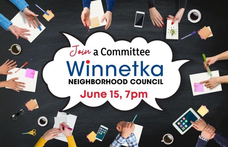 Join a Winnetka Neighborhood Council Committee