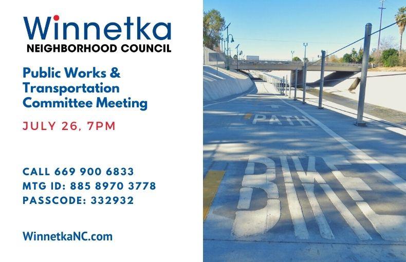 Winnetka Public Works Meeting Announcement