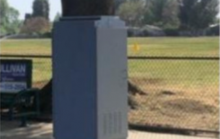 blank utility box