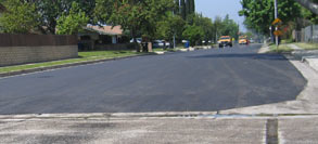 Finished Street Winnetka