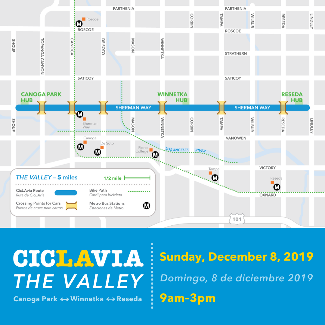 Ciclavia valley route