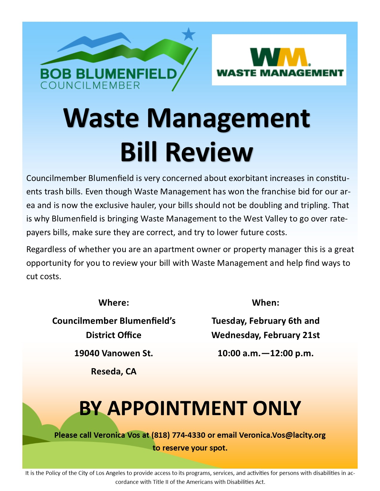 Waste Management Bill Review