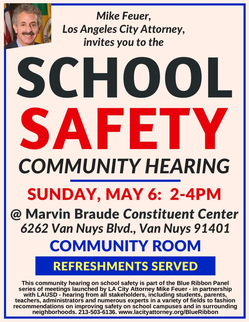 School safety hearing